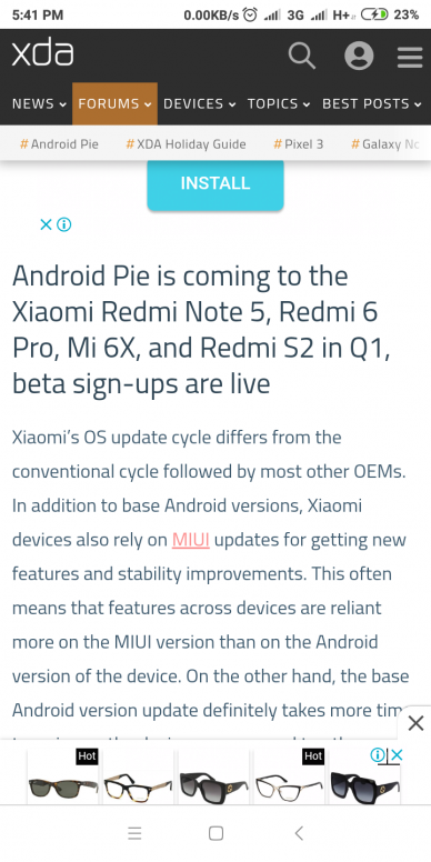 finally pie update for mi y2 - Redmi Y2 - Mi Community - Xiaomi