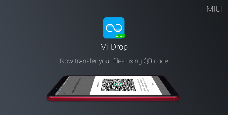 Mi Drop - Now transfer your files using QR code - Tips