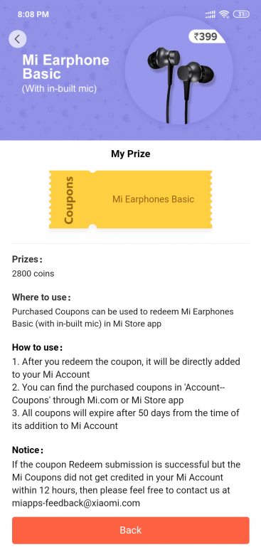 how to get mi coupon code to redeem coupon in mi store