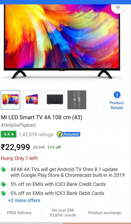 When will MI tv 4a get google playstore and android oreo 8 1