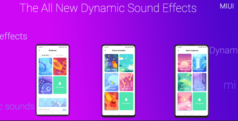 MIUI 11]: Experience the Dynamic Sounds with Natural Sound