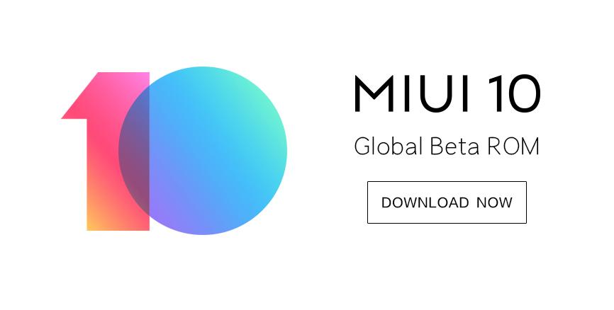 MIUI 10 Global Beta ROM 8.9.20: full changelog & download links