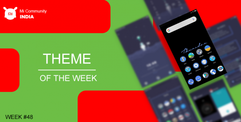Theme of The Week #48] Blasunk v10 - MIUI 10 makeover - Themes - Mi