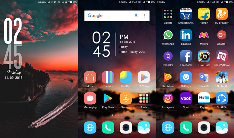 Best Sunset MIUI Theme Download Now For Xiaomi Mobile - Themes - Mi