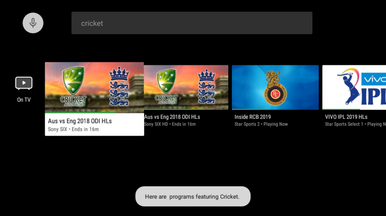 New Sensy TV Guide App on Mi TV Pro Series - For Cable/Set