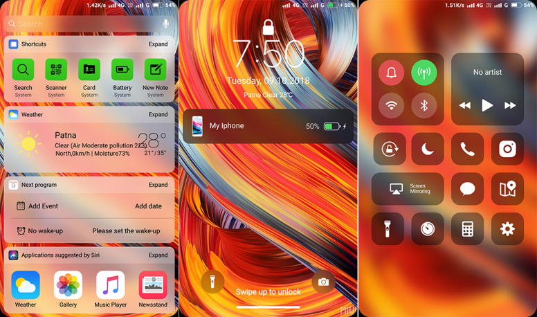 iPhone iOS 11 4 TT MIUI Theme Download Now For Xiaomi Mobile