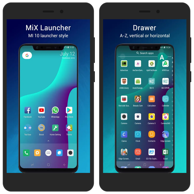 ART] Mi X Launcher - Inspired by MI 10 Launcher - MIUI