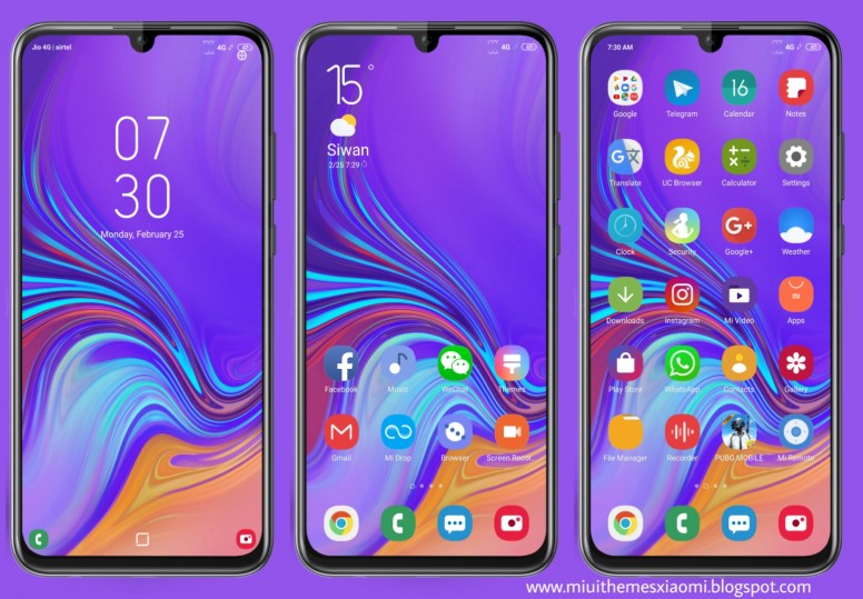 Samsung One UI MIUI V10 Theme Download For Xiaomi Mobile - Themes