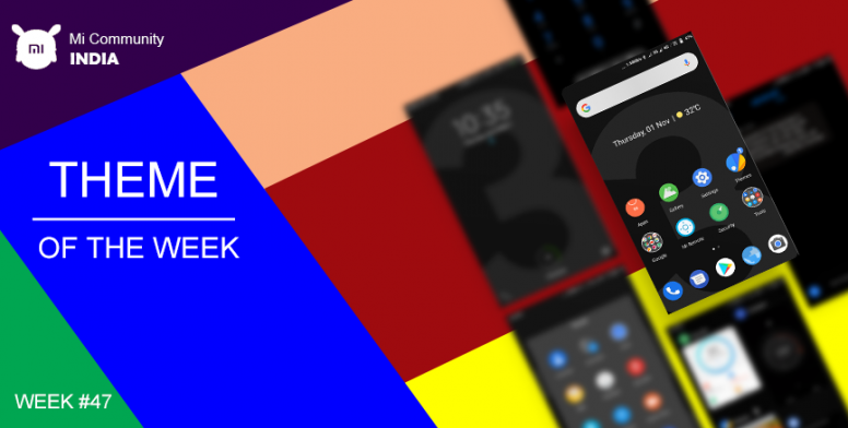 Theme of the Week #47] Android 9 0 Pie [Dark] v10 - Darkest of All
