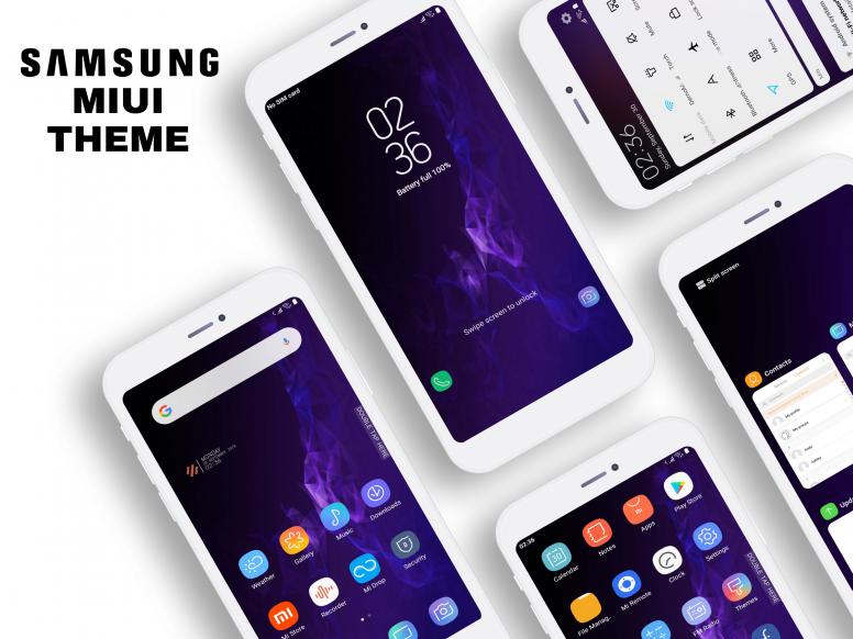 Samsung Galaxy S9 MIUI Theme Download For Xiaomi Mobile