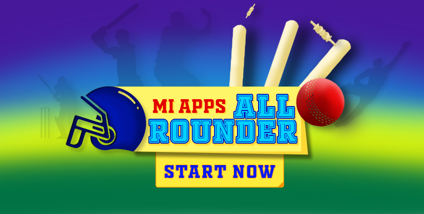 Mi Apps All Rounder: Predict The Match Winner To Be A Winner