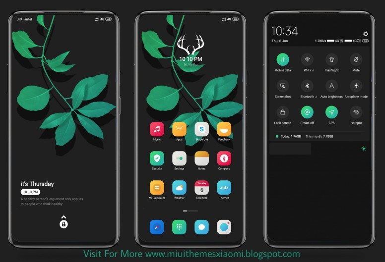Rest Area MIUI Theme Download For Xiaomi Mobile - Themes