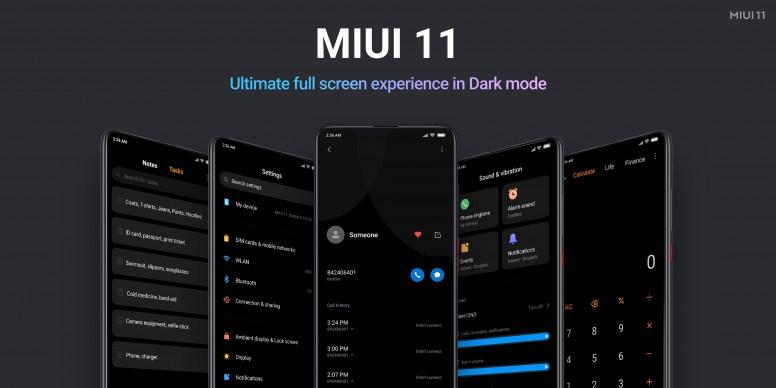 MIUI 11 Dark Mode