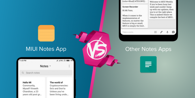 Let's Debate #12]: MIUI Notes App Vs Other Notes Apps - MIUI General