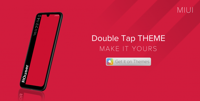 Double Tap Theme: Customize & Make It Yours, Download Now
