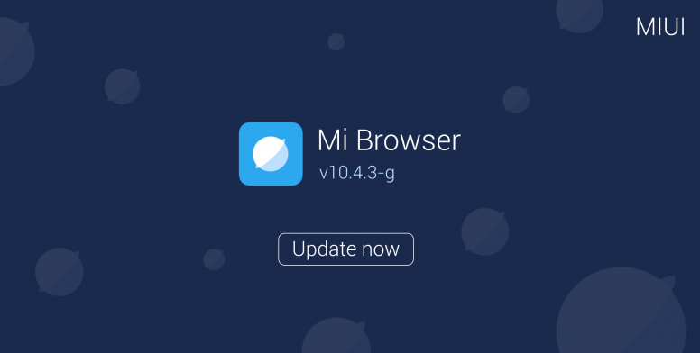 Mi Browser v10 4 3-g Released: Full Changelog and Download Links