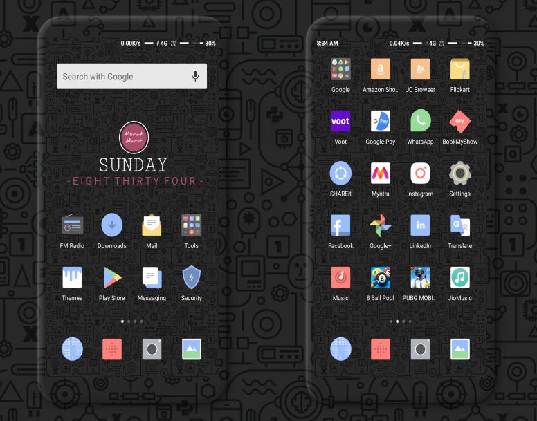 Morat Marit 999 MIUI Theme Download For Xiaomi Mobile
