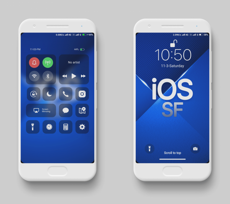 iPhone iOS SF MIUI V10 Theme Download For Xiaomi Mobile - Themes
