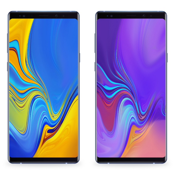 Rt Samsung Galaxy A9 2018 Built In Default Wallpapers Resources