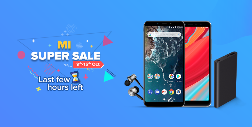 Mi Super Sale 9th October to 15th October