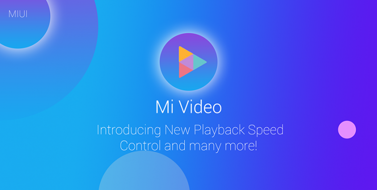 MIUI 10 Video App - Introducing New Playback Speed Control and many