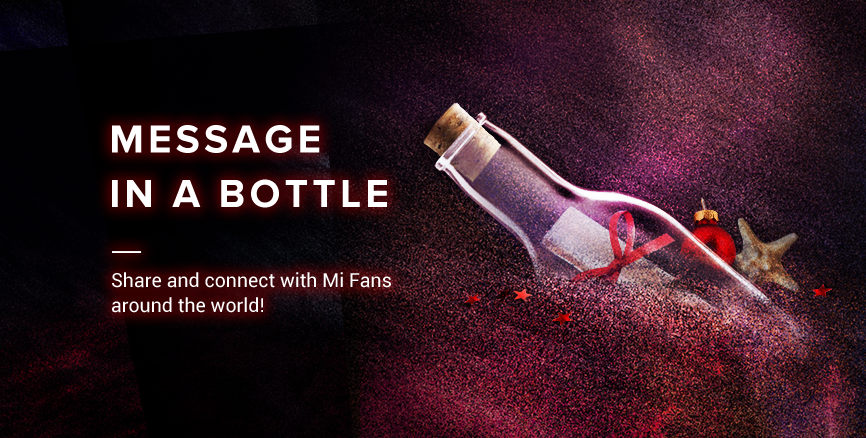 Participate in 'Holiday Message in a Bottle': win ₹1000 mi.com coupons and more!