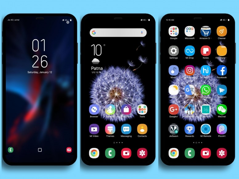 Samsung One UI MIUI Theme Download For Xiaomi Mobile
