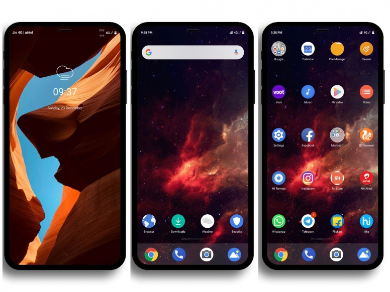 Android One Pro MIUI V10 Theme Download For Xiaomi Mobile