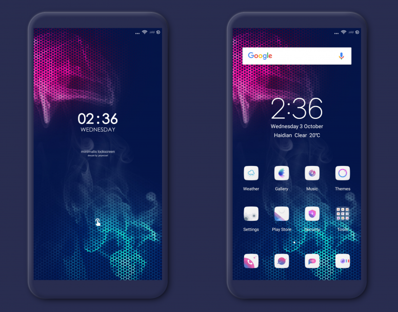 beasty dark miui v10 theme download for xiaomi mobile themes mi