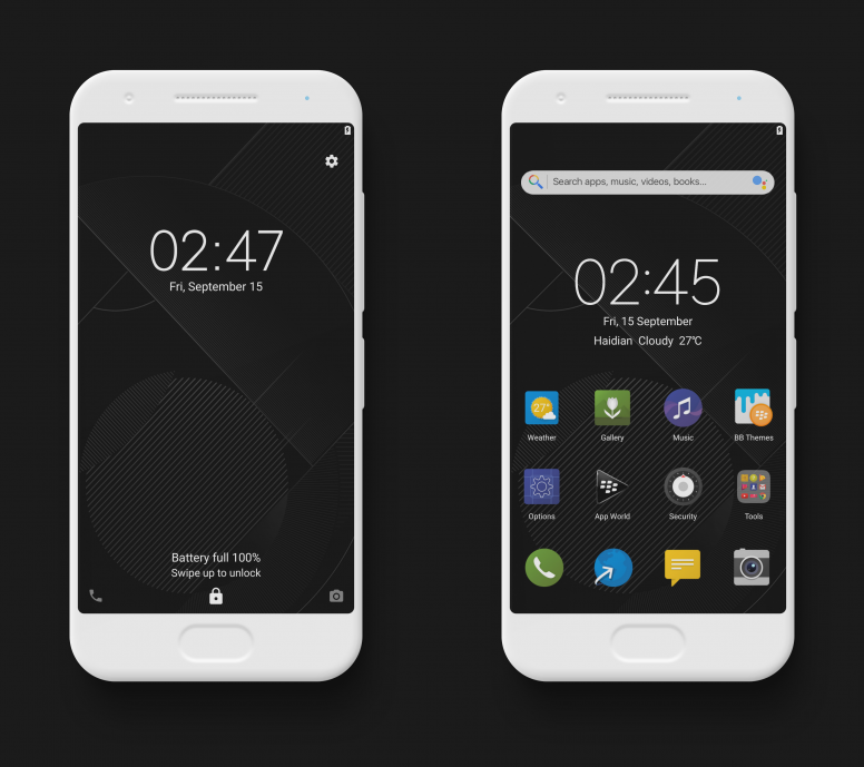 BlackBerry MIUI Theme MTZ Download For Xiaomi Mobile - Themes - Mi
