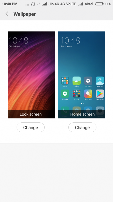 How To Get My Old Future Theme Of Redmi 4a Wallpapers Carousel