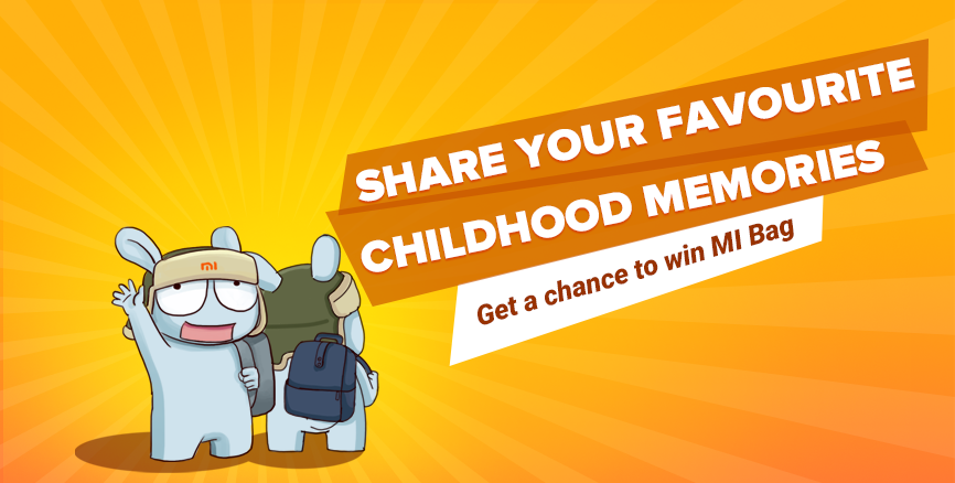 Share your favorite childhood memories and get a chance to win Mi City Backpack