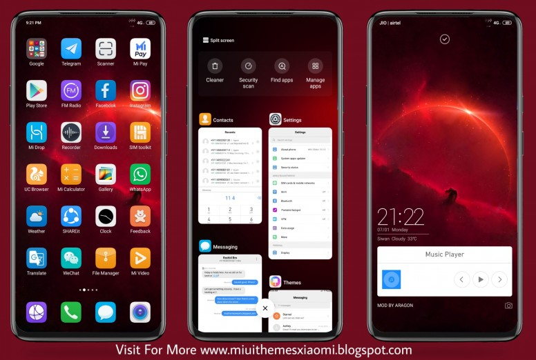 Huawei MyStery Edition MIUI Theme Download For Xiaomi Mobile