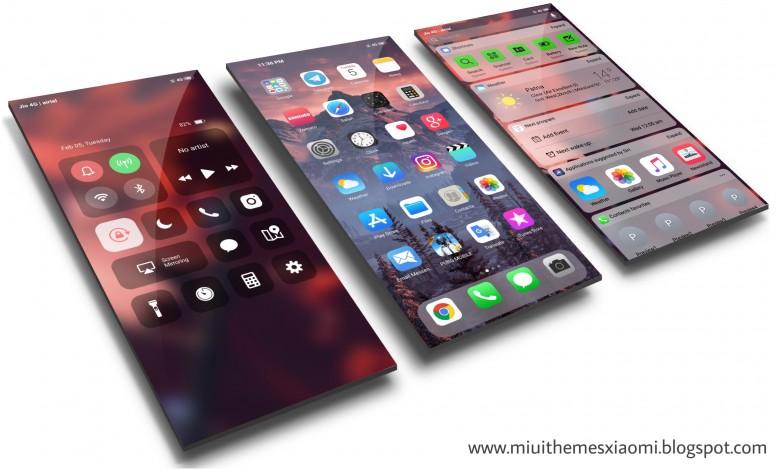 The Iphone Xs Max Miui 10 Theme Mtz {Forum Aden}