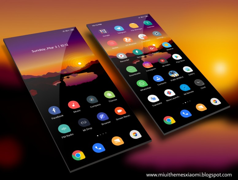 Flat MIUI V10 Theme Download For Xiaomi Mobile - Themes - Mi